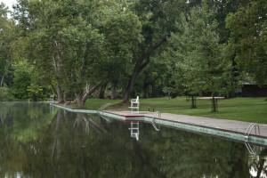 A summer morning at Sycamore Pool