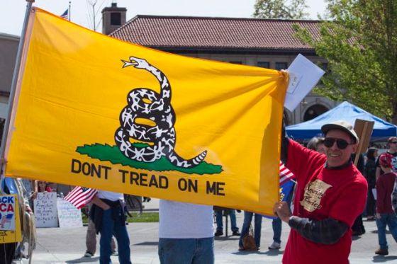 2010 local Tea Party rally