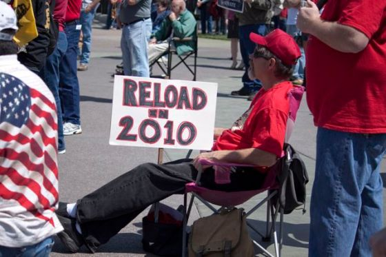 2010 Tea Party rally participant