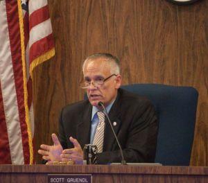 Incumbent Mayor Scott Gruendl