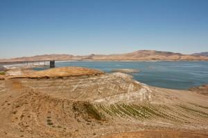 San Luis Reservoir in San Joaquin Valley.