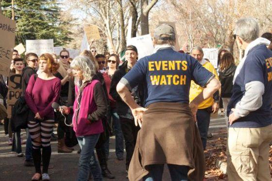 ACLU Event monitors