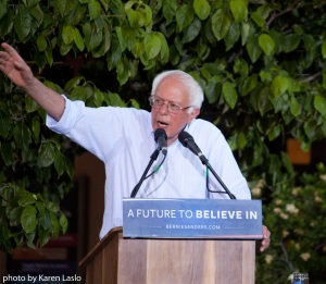 Bernie in Chico, June 2016