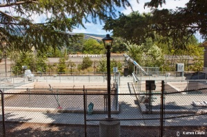 Mosier Water Treatment plant.