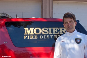 Jim Appleton, Mosier Fire Chief
