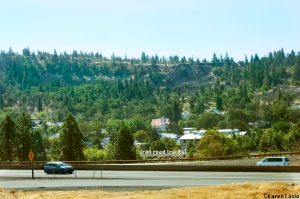 Mosier as seen from Hwy 84.