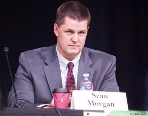 Current Vice-Mayor, Sean Morgan, endorsed by local Republican.